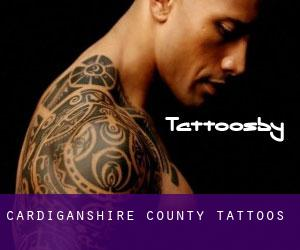 Cardiganshire County tattoos