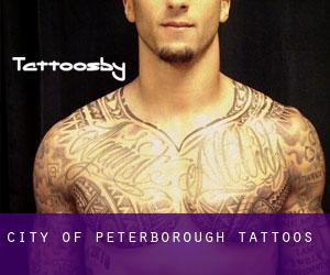 City of Peterborough tattoos