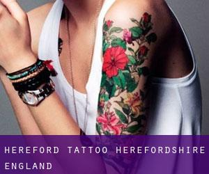 Hereford tattoo (Herefordshire, England)