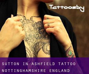 Sutton in Ashfield tattoo (Nottinghamshire, England)